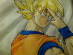 Goku's Farewell by Noir98