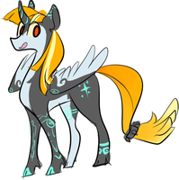 PRINCESS TWILIGHT PRINCESS by the-doodle-queen