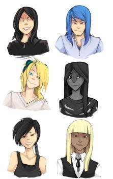 The Grinning Bunch by Zennore