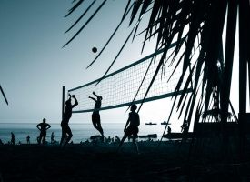 Evening volley by Zgan