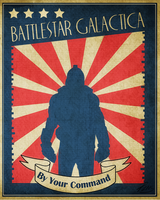 Retro BSG Poster by PZNS