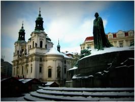 St. Nicholas Church, Prague by SeiMissTake