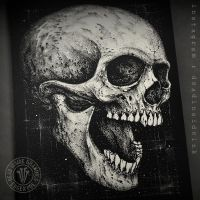 A Skull by DeadInsideGraphics