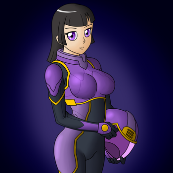 Space Pilot Sin by Sin-R