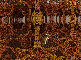 A fractal Background for Loonely Tunes by PhotoComix2