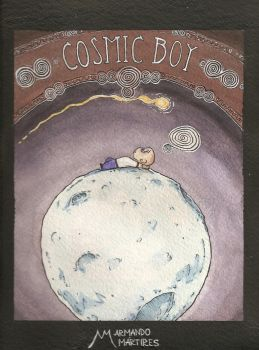 Cosmic Boy - Illustration 03 by amartires