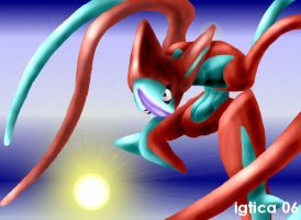 Deoxys for jedite1000 by igtica