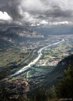 Isere valley by JoelRemy222