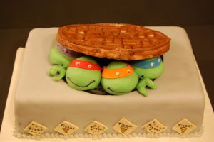 TMNT Cake 2 by soup1335