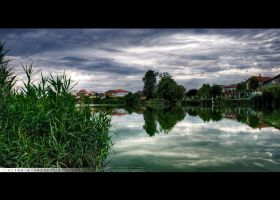 Mogosoaia Lake HDR by MakbethStudio