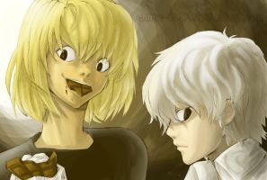 Mello and Near by Anime-2000