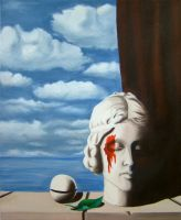 Master Copy - Rene Magritte: Memory1 by DarkMuse112