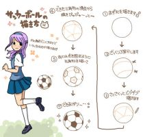 Riony soccer-ball drawing-guide by Riony-Yagameratsu