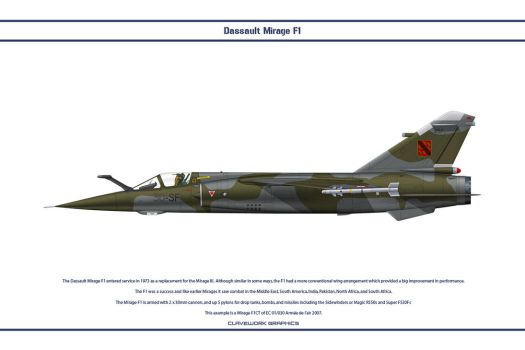 Mirage F1 France 3 by WS-Clave