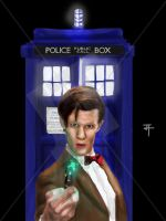 The 11th Doctor by IronWarrior777