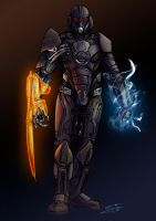 Mass Effect Villain by GardHelset