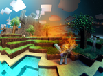 The Minecraft Picture by DavidHansson
