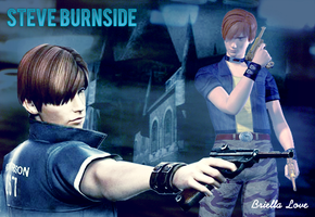 Steve Burnside Wallpaper by BriellaLove