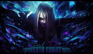Death Knight Elf by Sikk408