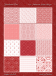 101 Seamless - Red Patterns by Sedma