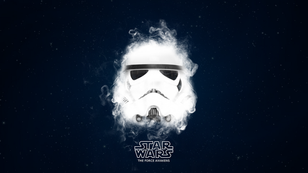 Star Wars - Stormtrooper - The Force Awakens by TLDesignn