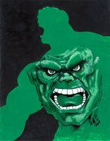 Hulk in Hulk by artildawn