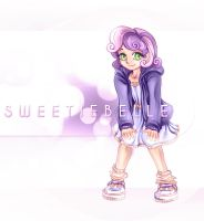 MLP:FIM Humanized Series Sweetie Belle by Bouxjie