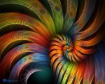Rooster Tail Spiral by wolfepaw