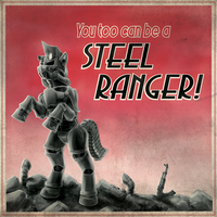 FoE - Steel Ranger Recruitment Poster by Droakir