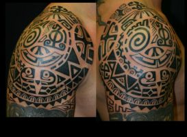 marquesas tribal by alphatattoo