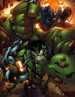 Hulk in chains by AlonsoEspinoza