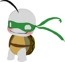 Teenage Mutant Ninja Sup Guy by ZomzArtisticz