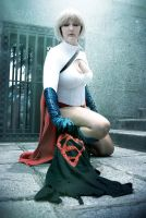 Power Girl against Clone by laNane