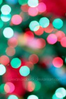 peppermint bokeh. by AlexandraBuck