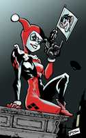 Harley Quinn by Airold by The-Napalm-Freak