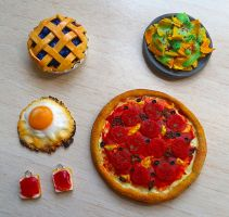 Fimo Food by Ragamuffyn
