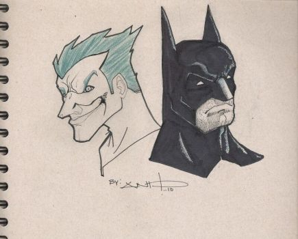the bat and the joke by LOGAN-AND