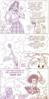 lady shy  comic  1 by Dianamcgarden