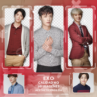 +EXO // Photopack 182 by AestheticPngs