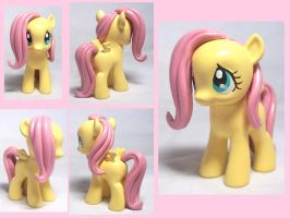 Filly Fluttershy Custom Toy by CadmiumCrab
