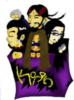 korn color by DaGreatVincE