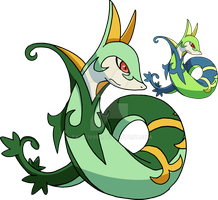 497 - Serperior - Art v.3 by Tails19950