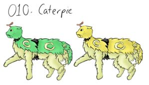 Caterpie Cat by 23111997marialouise