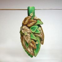 Leafy Beauty Pendant by eerok1955
