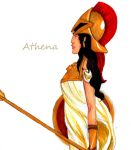 Athena by fgee