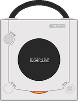Nintendo Gamecube [White] by BLUEamnesiac