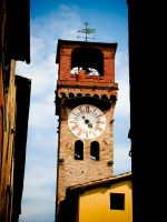 Tuscany Church tower 2008 by slcrawford
