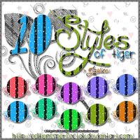 10 Styles of Tiger by EditionssPerfectOk