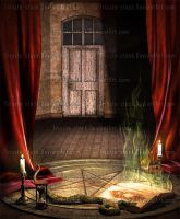 Book of Dark Spells #2 by Trisste-stock-moved