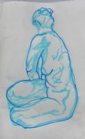 Sat, Twisted life drawing by object000